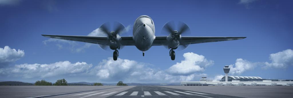 airplan take off