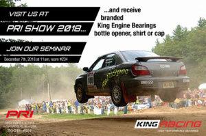 king seminar at PRI indianapolis show